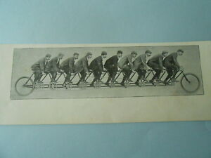 La-Decuplette-Tandem-10-personnes-1898-Image-Print