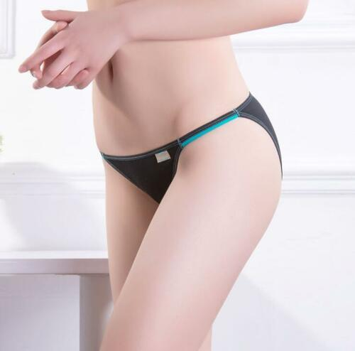 Women Cotton Knicker Thong G String Briefs Underwear Panties Seamless Underpants