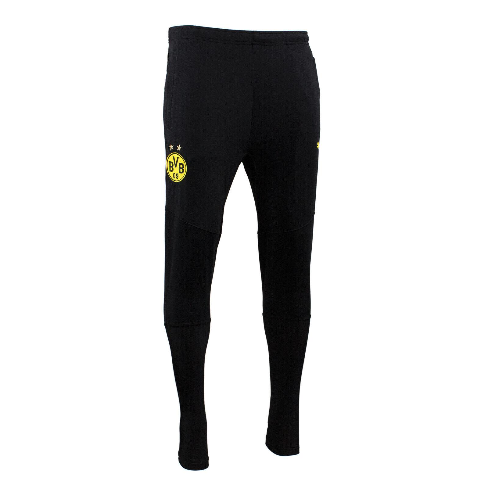 Puma BVB Borussia Dortmund Taperot Trainingshose Training Pant schwarz schwarz schwarz S M L XL  | Genial Und Praktisch  cfca61
