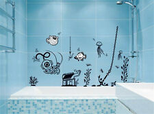 Sea creatures fish ocean Home Room Decor Removable Wall Sticker Decal Decoration