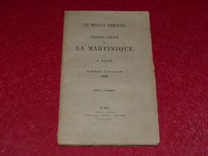 Bibl-RENE-COTTRELL-ANTILLES-NICOLAS-BASSET-OBSERVATIONS-SUR-LA-MARTINIQUE-1886
