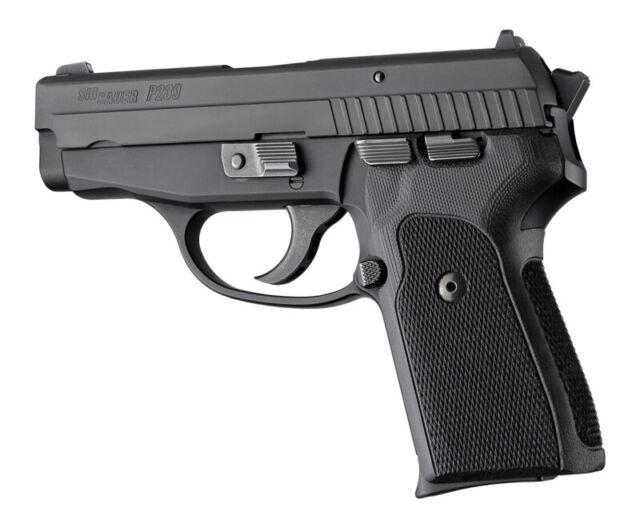 Hogue 31179 Sig Sauer P239 Da Sa Checkered Grip G10 Solid Black