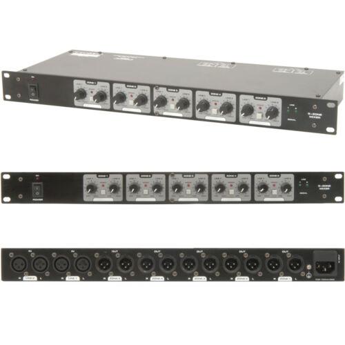 XLR Speaker Matrix Zone Mixer for Amplifiers-Switch//Splitter-Distribution Box DJ