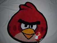 Angry Bird Bath Rug - Red -25 X 22