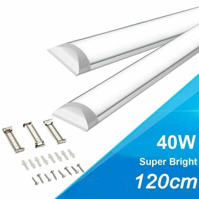 Hykolity 4ft 40w Linkable Led Architectural Suspended Linear Channel Light For For Sale Online Ebay