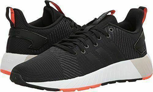 Adidas Questar BYD Men's Running Training shoes Black Solar Red DB1567