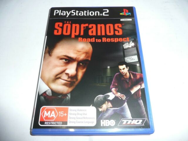 THE SOPRANOS ROAD TO RESPECT PS2 GAME NEW
