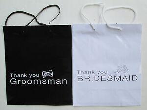 Wedding Gift Bags For Groomsmen : Home & Garden > Wedding Supplies > Wedding Favors