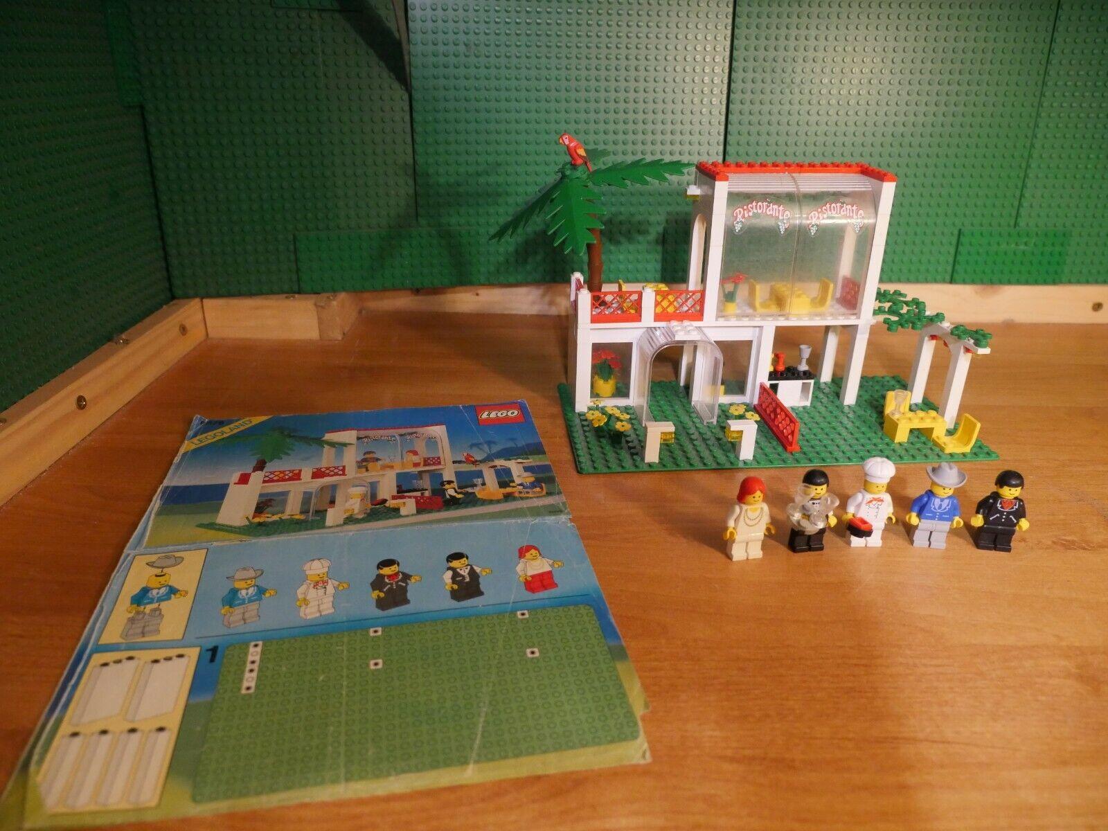 LEGO® 6376 Breezeway Cafe   Restaurant von 1990