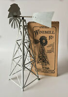 Model 17  Miniature Steel Windmill Kit By Smv (usa Made)..13....smv-48-m