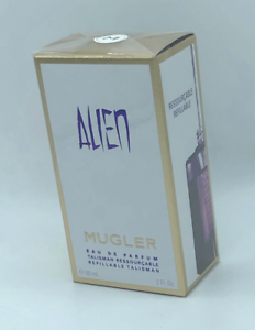 Detalles de 60ml Thierry Mugler ALIEN Eau de Parfum Refillable Talisman for Women 2 oz