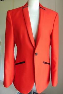 Smart-red-tuxedo-evening-dinner-jacket-prom-formal-wear-only-few-sizes-left