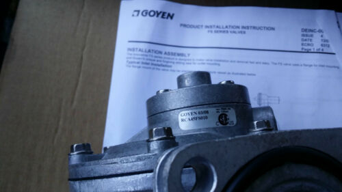 "Pilot size 1//8/"" Goyen RCA45FS010 Valve 1.5/"" Diaphragm Mat Nitrile size 45mm"