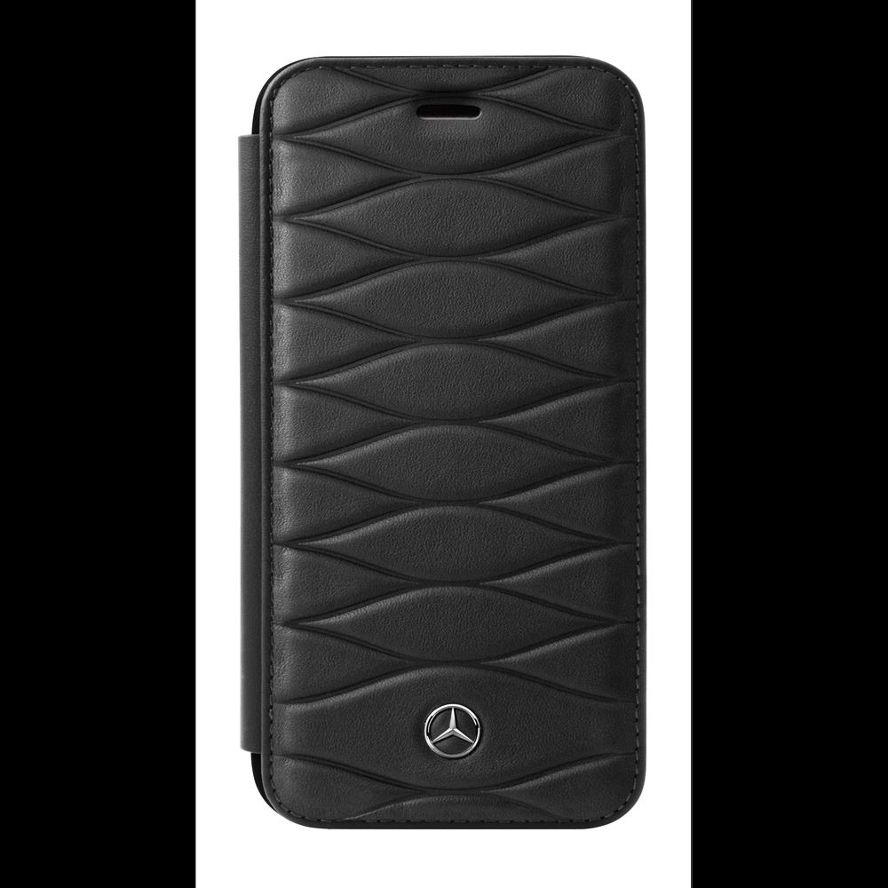 Mercedes Benz Huelle iPhone 7 Plus   iPhone 8 Plus Booktype Schwarz
