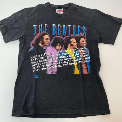 Vintage 1991 The Beatles T Shirt Medium Double Sid