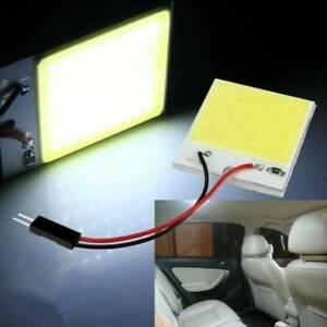 1X-48SMD-COB-LED-White-Panel-Car-Interior-Panel-Light-Dome-Lamp-Bulb-T10-12V-4W