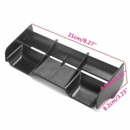 Heckflügel Heckspoiler für Buggy Auto RC 21*8.2*4.5cm Nützlich Hohe Qualität