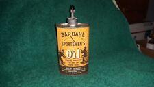 Bardahl Sportsmen's Gun Oil Tin Can Handy Oiler Gas Sign