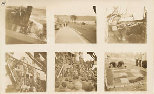 WWII-1945-GI-039-s-returns-home-USS-Enterprise-Operation-Magic-6-Photo-sheet-1