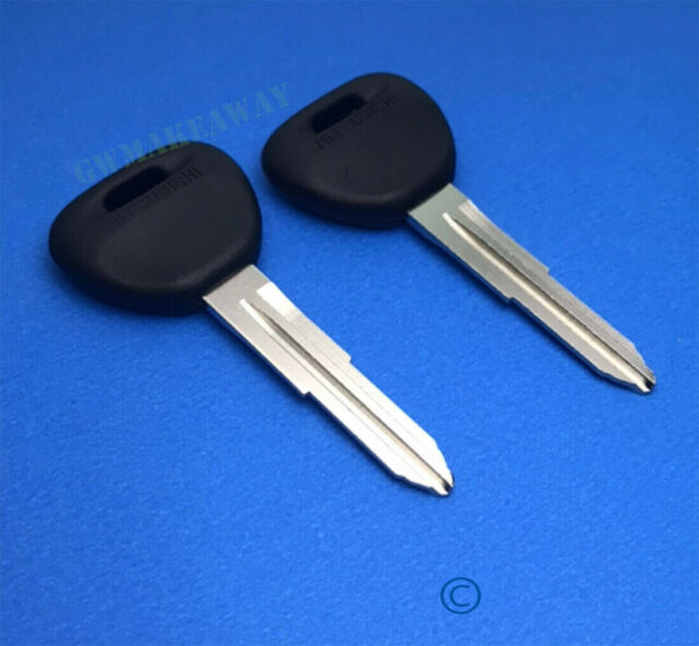 ihave Key Blank fit for Mitsubishi 1990-06 Pajero Montero Sport 1990-96 Sigma Wagon Pair