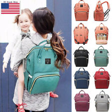 Ergo Queen Mummy Diaper Bag Backpack Large Capacity Maternity Nappy Baby Travel