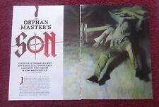 2012 Magazine Short Story 'Orphan Master's Son' by Adam Johnson w/ Phil Hale Art