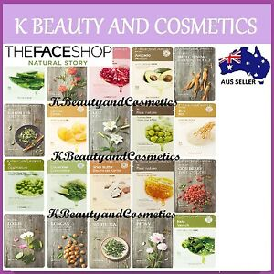 15-pieces-x-The-Face-Shop-Real-Nature-Mask-Sheet-SET-All-22-types-available