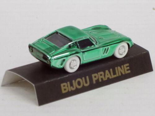 praliné Bijou 1:87 box Ferrari 250 GTO en verde metalizado como prendedor//Pin
