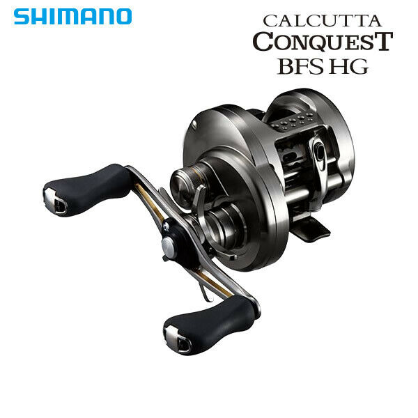 Shimano 17 Calcutta Conquest BFS HG Right Handle Baitcasting Reel From Japan New