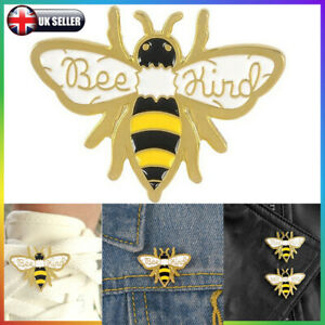 HONEY BEE Bumble Insect ENAMEL  Pin Manchester BEE KIND Jewellery