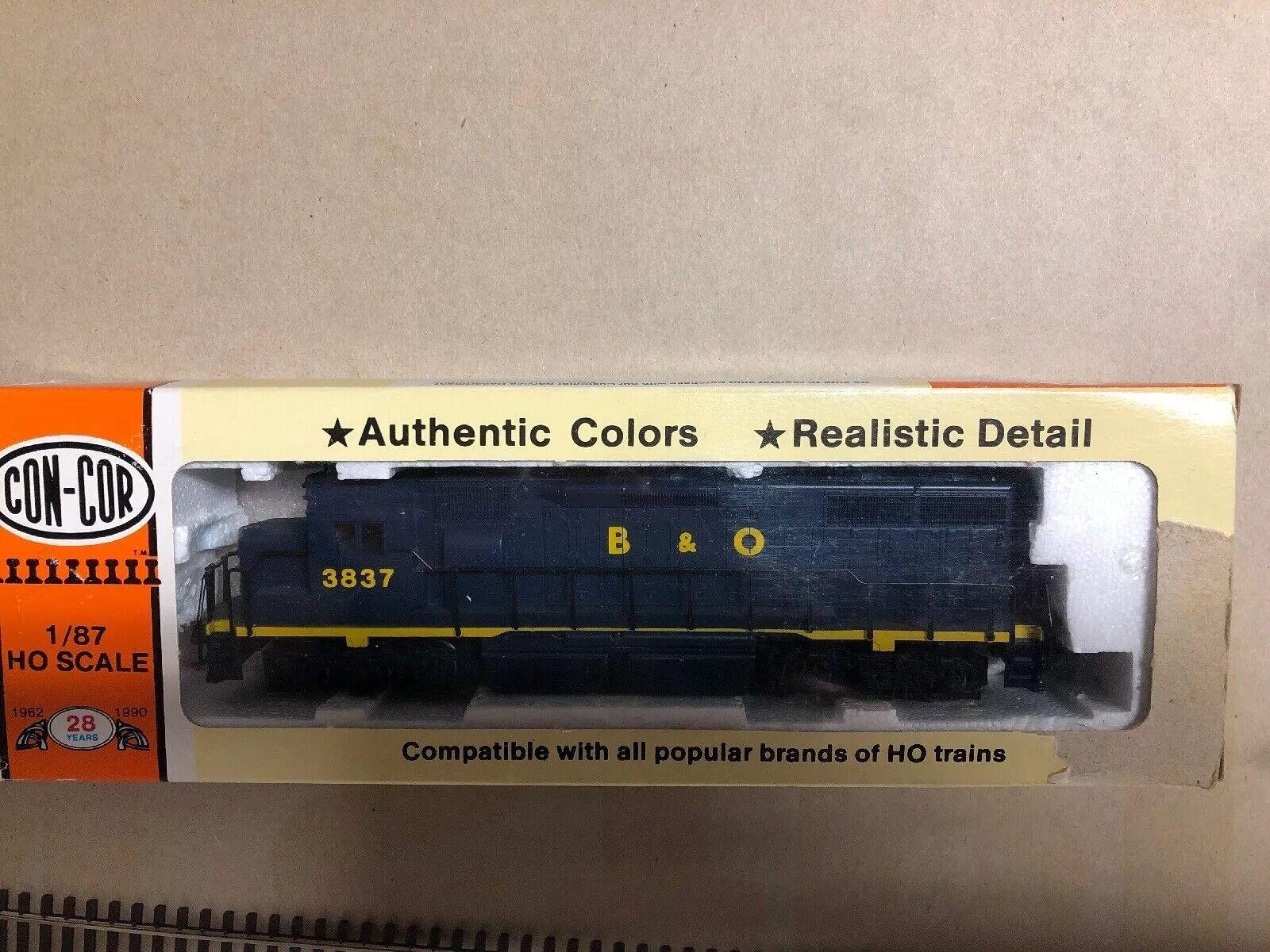 Atlas Concor Roco HO GP 38 B&O 3837 DCC