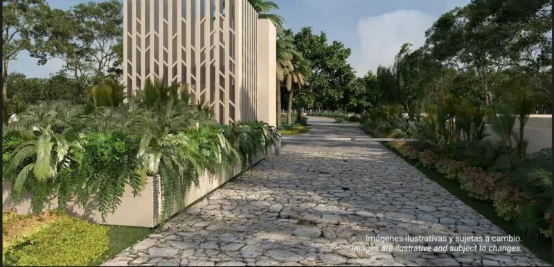 Terreno en venta con club de playa en Quintana Roo