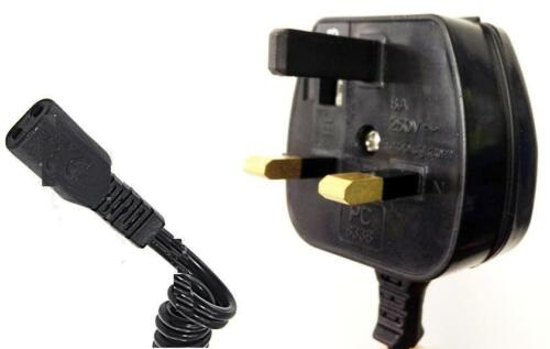 3 Pin UK Cavo di alimentazione caricatore per Philips Rasoio hq4845xl