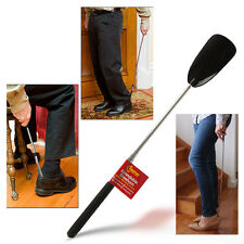 Shoe Horn Long Metal Extendable Plastic Mobility Disability Back Problems Aid