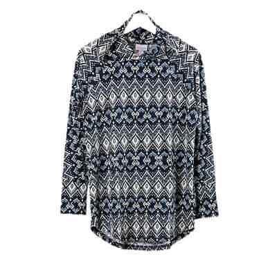 Size 2xl Lularoe Amber Pullover Hoodie Geometric Aztec Print Nwt Ebay