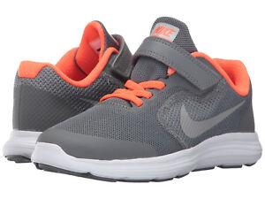 new concept 86621 8ca5f Image is loading Kids-Nike-Revolution-3-Hook-amp-Loop-819414-