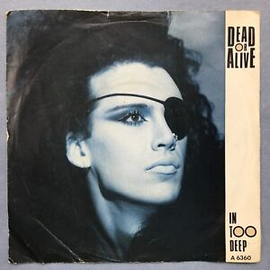 Dead-Or-Alive-In-Too-Deep-Epic-Records-A6360-Ex-Condition