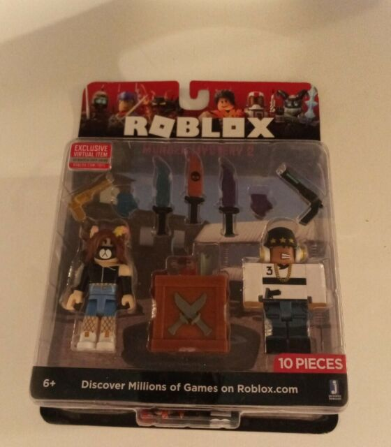 Roblox Murder Mystery 2 Season 1 Codes Roblox Murder Mystery 2 Collectible Kids Gift Miniature Figures For Sale Online Ebay