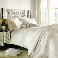 Kylie Minogue Astor Cream Oyster Bedding Range - Duvet / Quilt, Cushion, Runner
