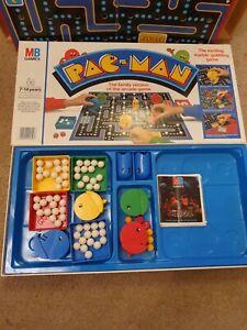MB-Milton-Bradley-1980s-Namco-Pac-Man-Retro-Board-Game-Vintage-PACMAN-Complete