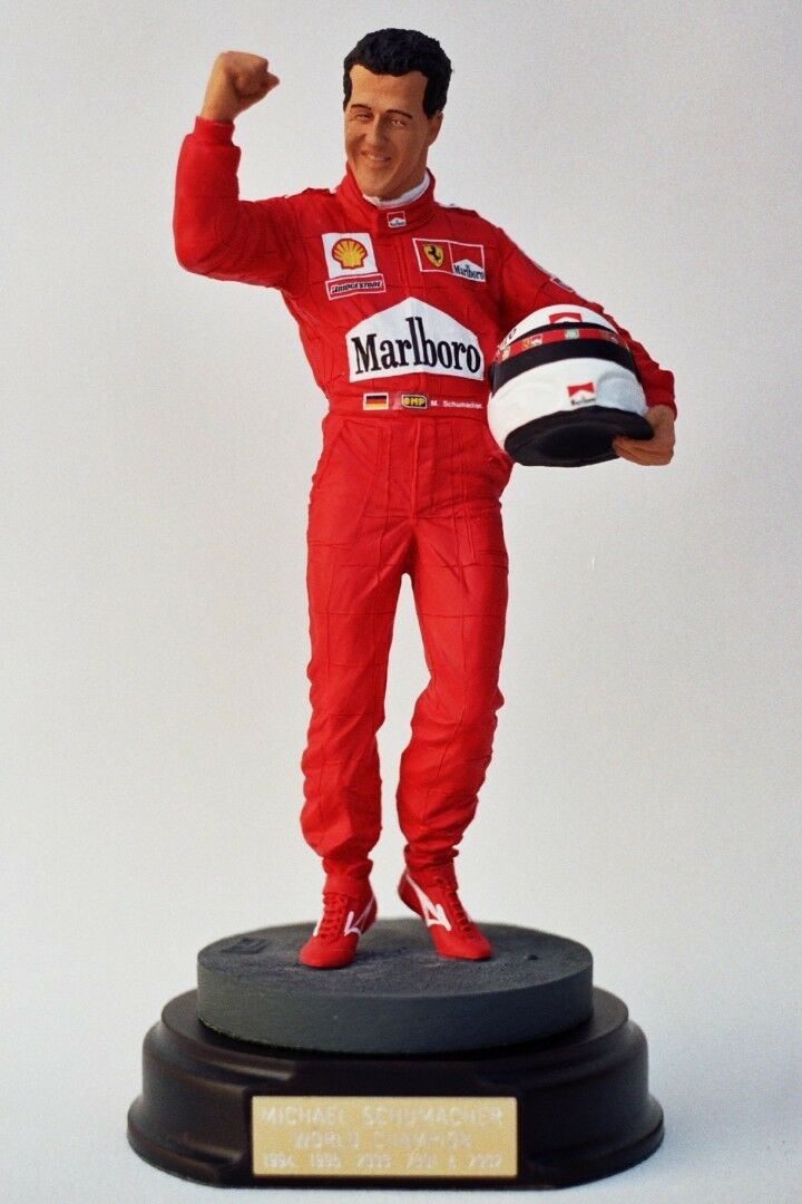 1 9 Endurance Figure Figurine Michael Schumacher Ferrari WC VERY RARE NEW-