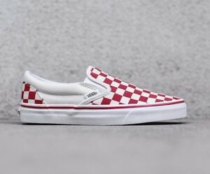 vans checkerboard slip on ebay