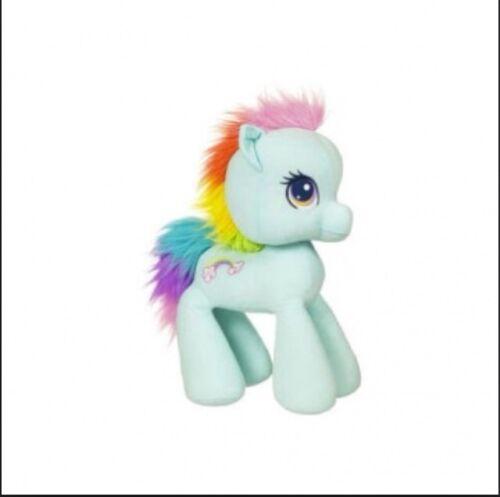 "New My Little Pony Jumbo Plush Rainbow Dash 2010 15/"" Toy Horse Rare Blue"
