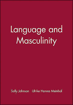 1 of 1 - Language and Masculinity (Missouri Heritage Readers), Johnson, Sally, Used; Good