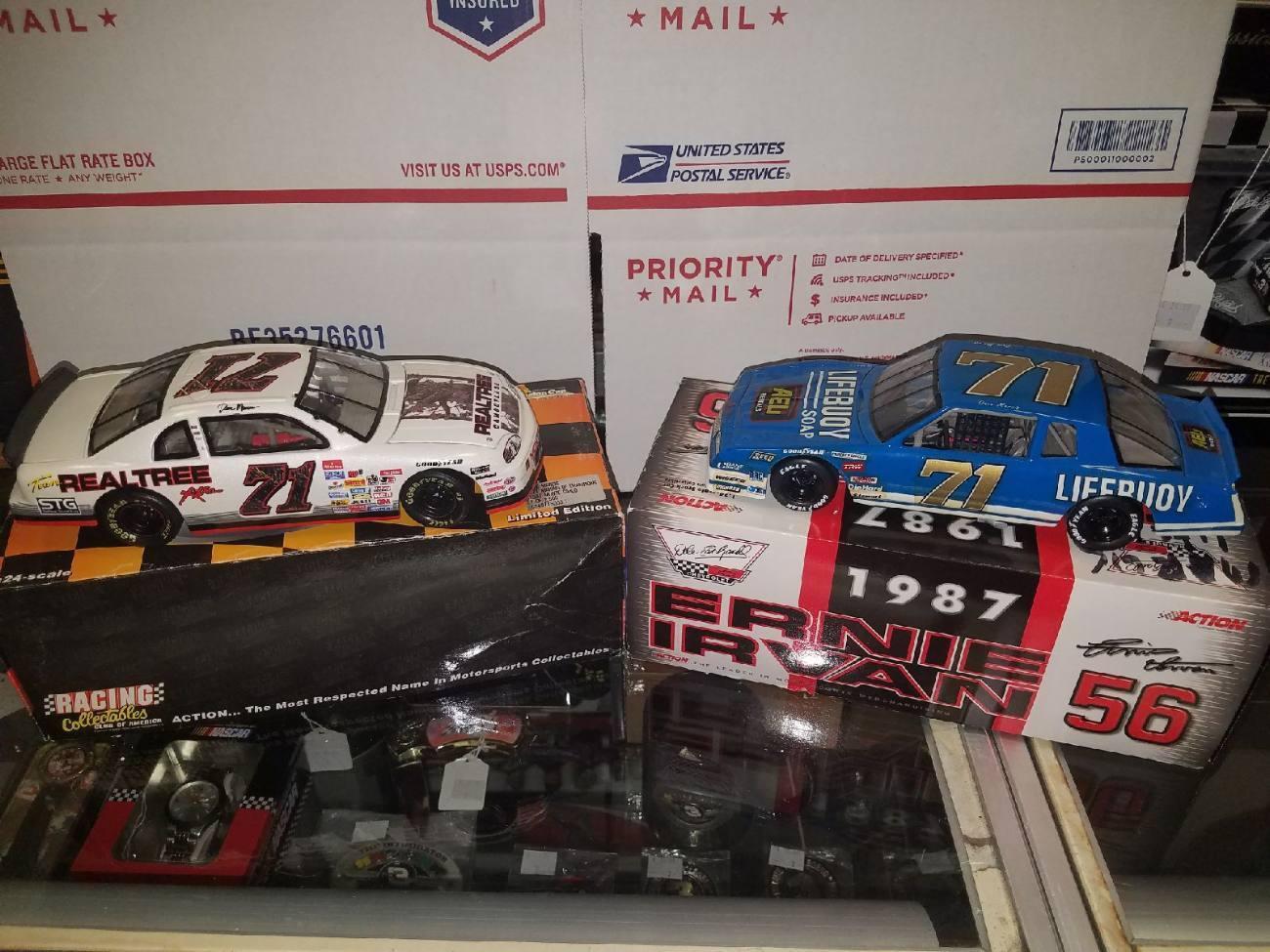 1 24 Scale Diecast Dave Marcis Nascar Cars (Lot )