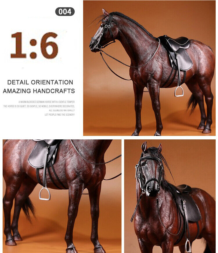 Mr.Z 1 6 Maroon  Geruomoy Hanoverian Horse Race Horses Animal F 12  azione cifra  negozio online outlet