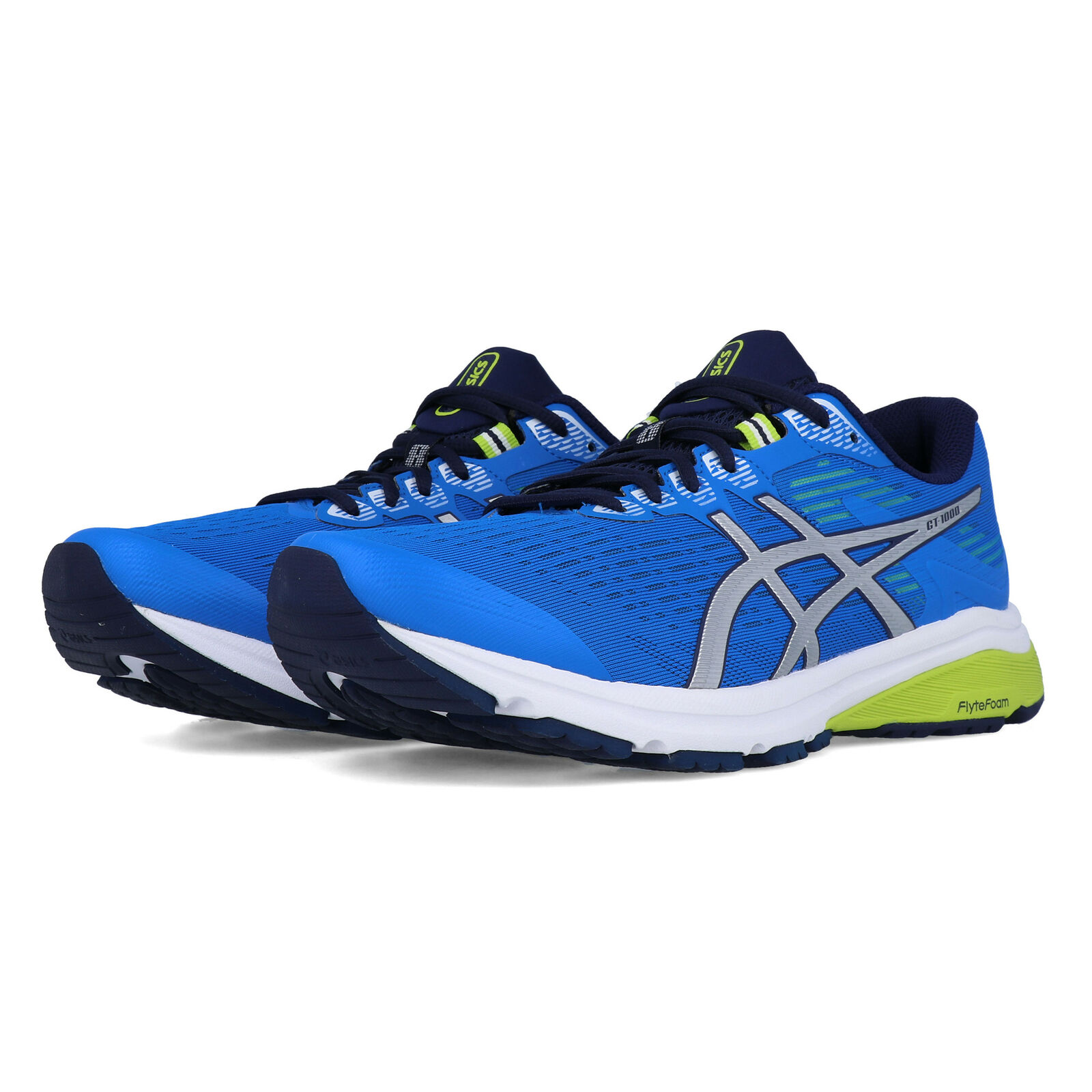 Asics Herren GT-1000 8 Turnschuhe Laufschuhe Sport Jogging Turnschuhe Schuhe Blau
