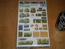 MODERN USA MILITARY EQUIPMENT SET, Miniatures, Plastic Model Kit, Scale 1:35