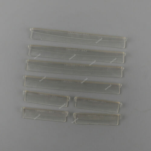 Transparent 8x Car Door Edge Guard Strip Scratch Protector Universal Set