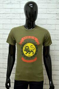 Maglia-OBEY-Uomo-Taglia-Size-S-Maglietta-Shirt-Man-Cotone-Manica-Corta-Slim-Fit